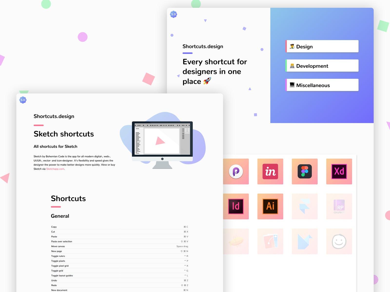 Shortcuts Designer - Tasarımcılar İçin Uygulama Kısayolları 2
